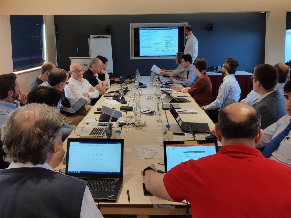 Reunión de consorcio del proyecto Mouldtex