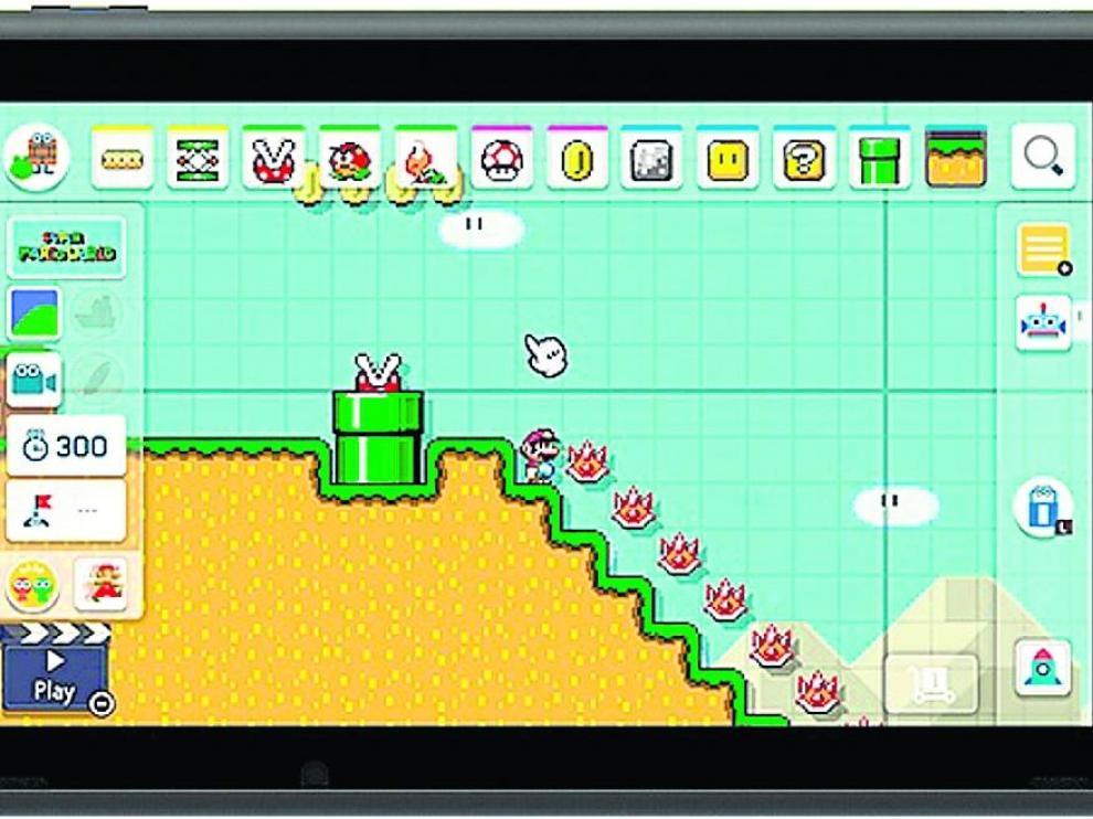 El juego 'Super Mario Maker 2'.