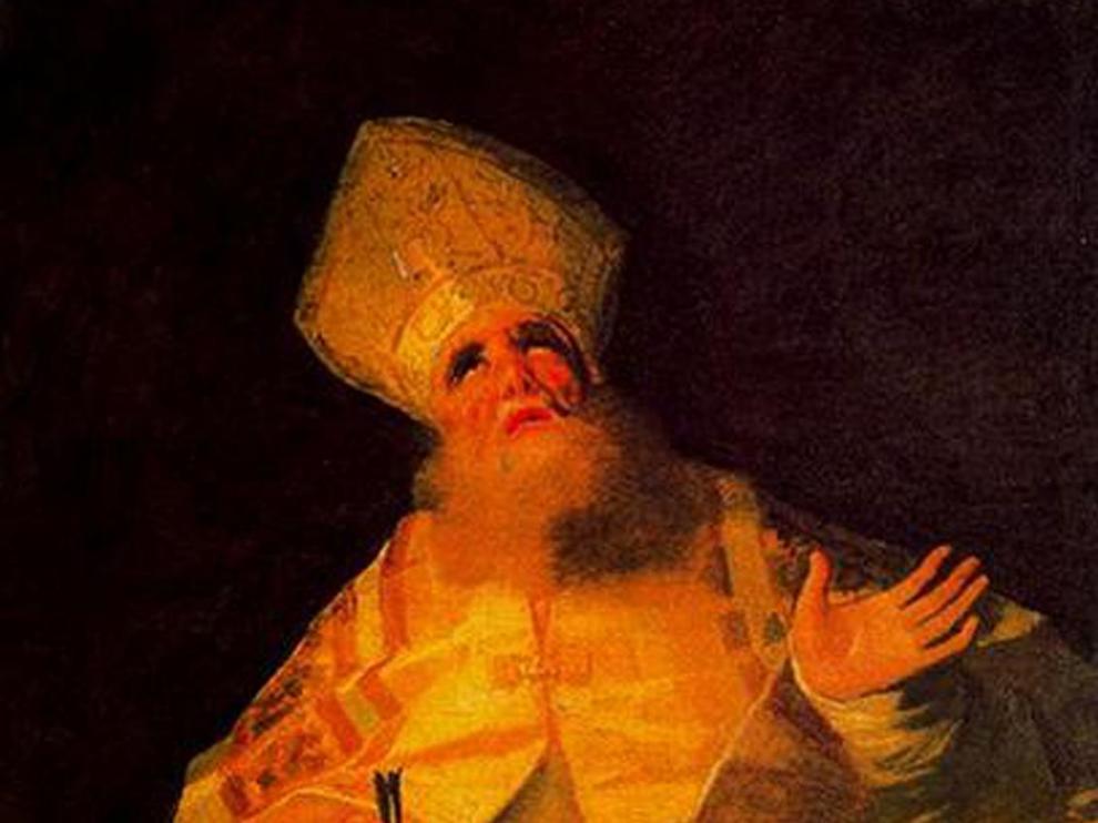 El 'San Agustín', una nueva incorporación para el Museo Goya.