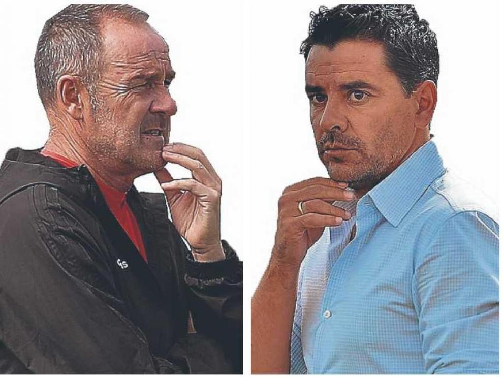 Víctor Fernández y Michel Sánchez