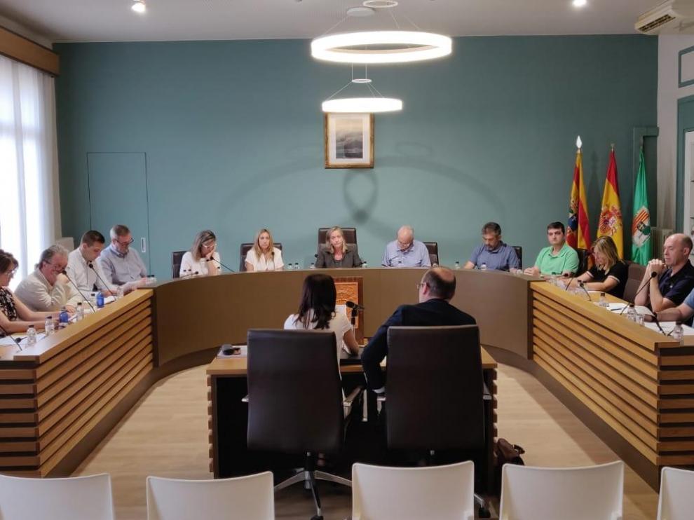 Imagen de la primera sesión del nuevo mandato.