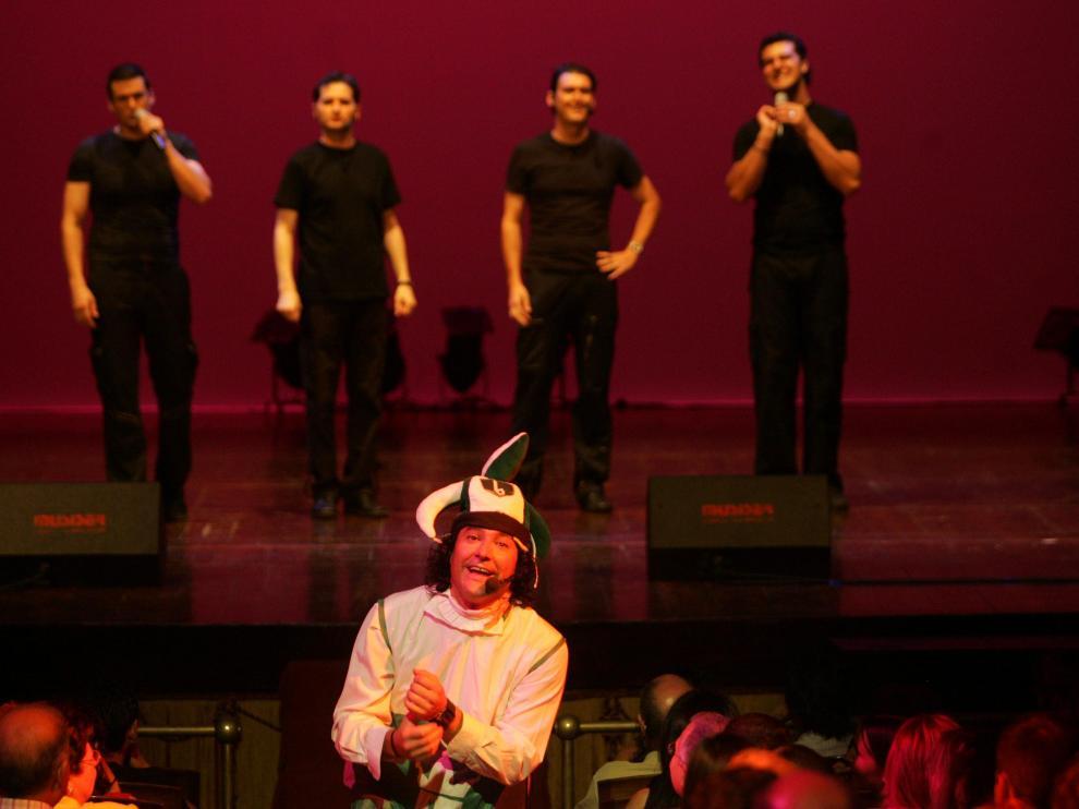 Teatro Principal. B-Vocal / 29-06-05 / foto GUILLERMO MESTRE