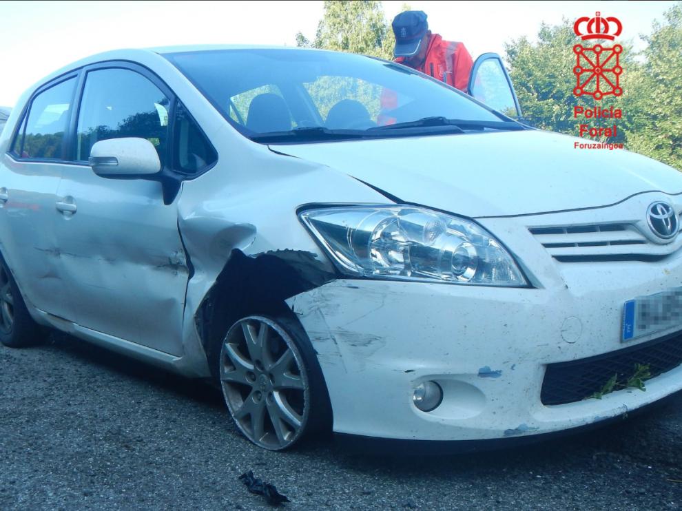 El conductor dio positivo en alcohol y drogas.