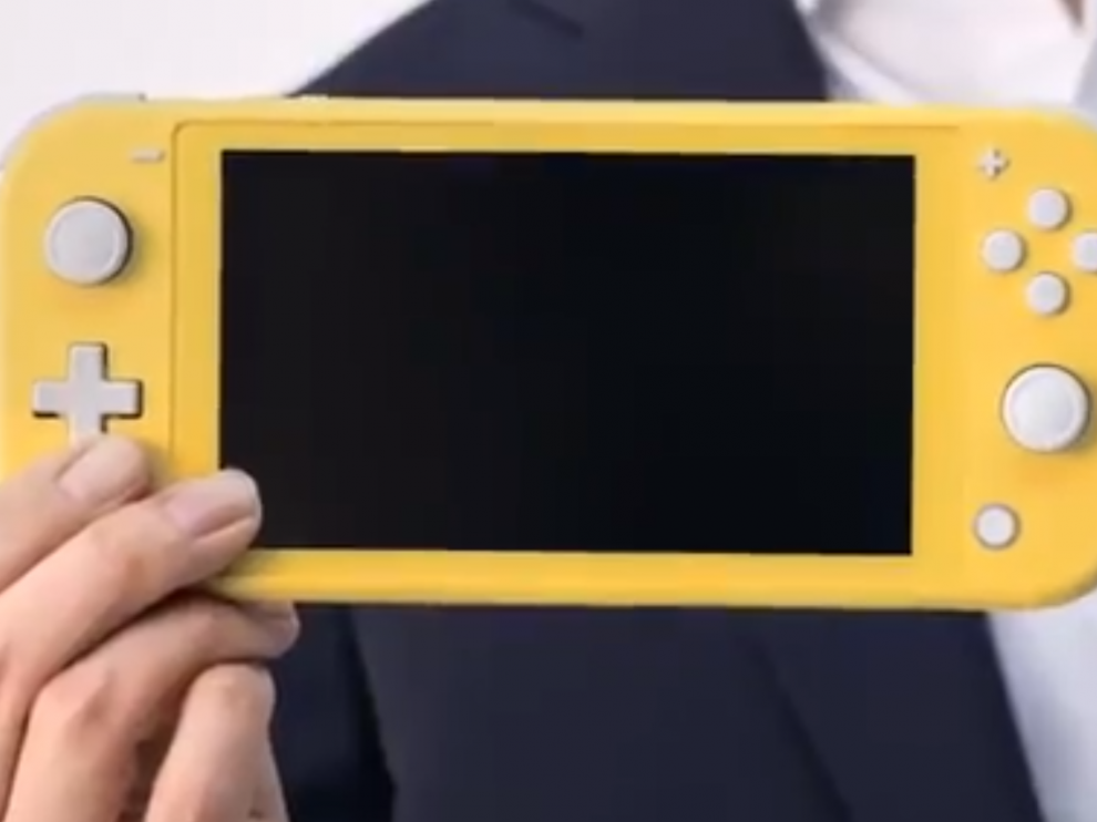 La Nintendo Switch Lite tiene una pantalla de 5,5 pulgadas.