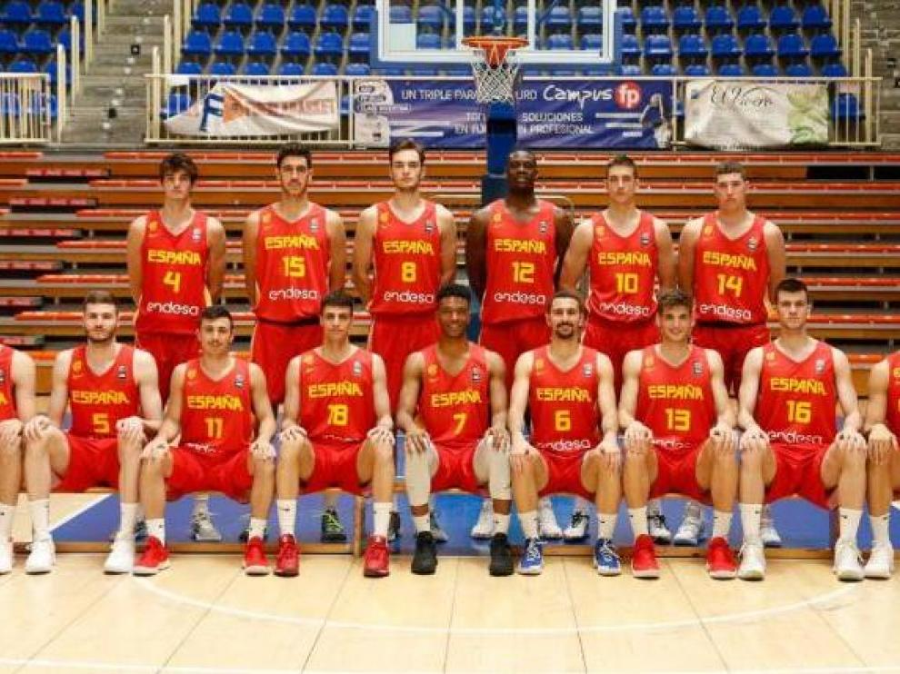 Los 12 convocados para el Europeo sub-20 de Israel.