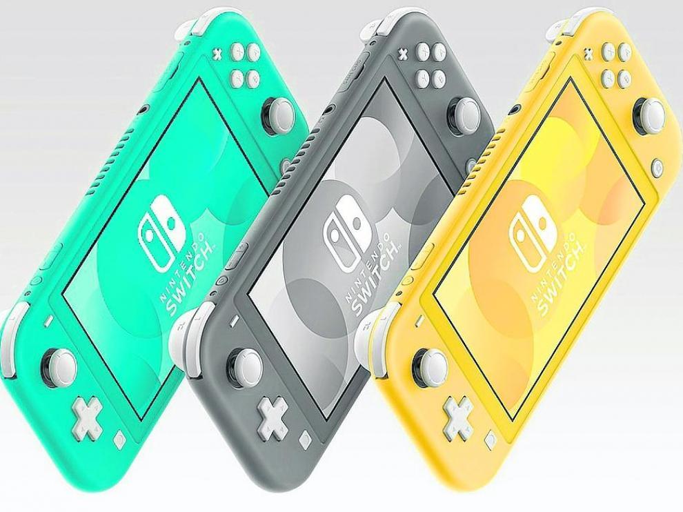 La Switch Lite estará disponible el 20 de septiembre en tres colores y una edición especial Pokemon.