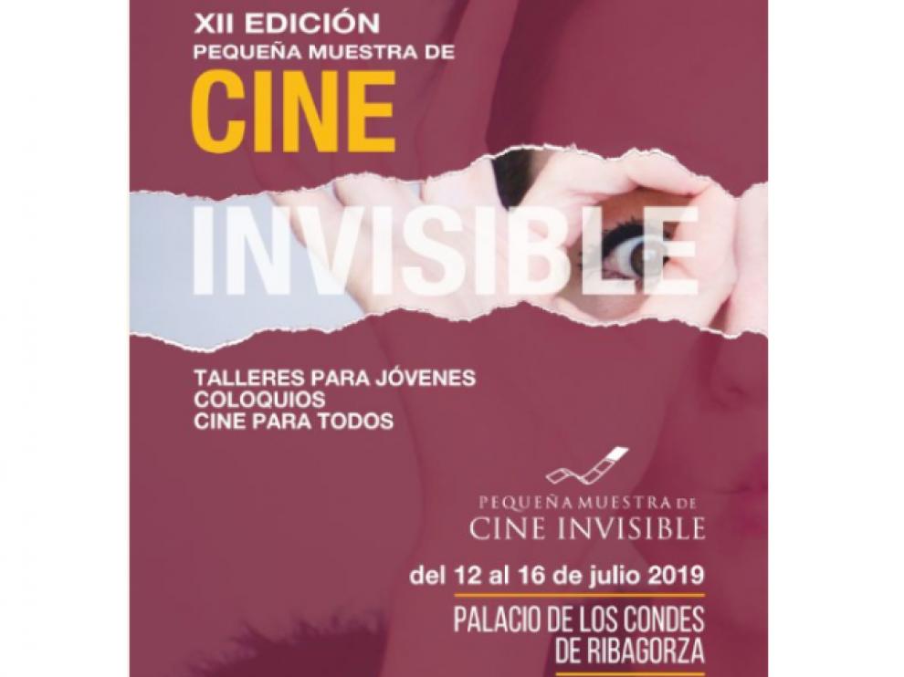 Cartel de la XII Muestra de Cine Invisible de Benasque.