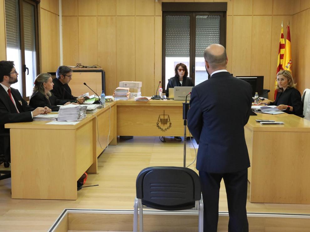 Juzgados de Teruel, juicio Motorland/04-06-19/foto:Javier Escriche [[[FOTOGRAFOS]]]