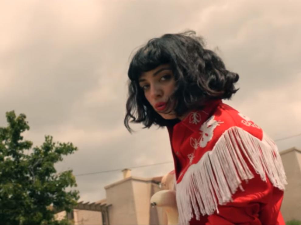 Mon Laferte en su último videoclip.