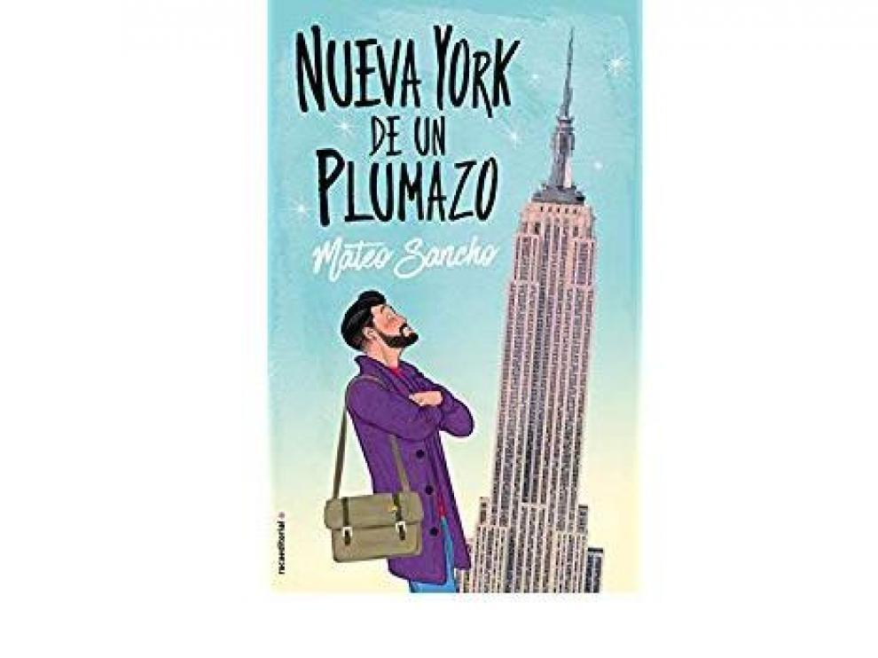 Portada de 'Nueva York de un plumazo', de Mateo Sancho.
