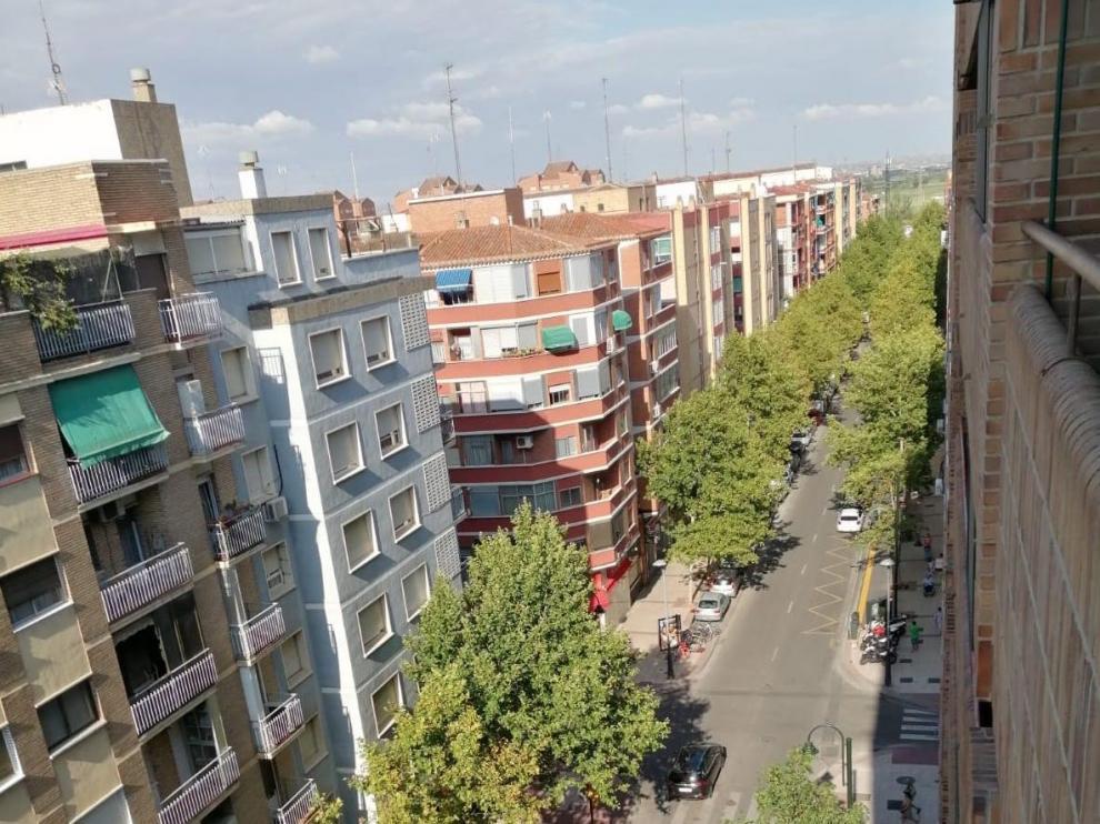 Avenida Compromiso de Caspe, en Las Fuentes