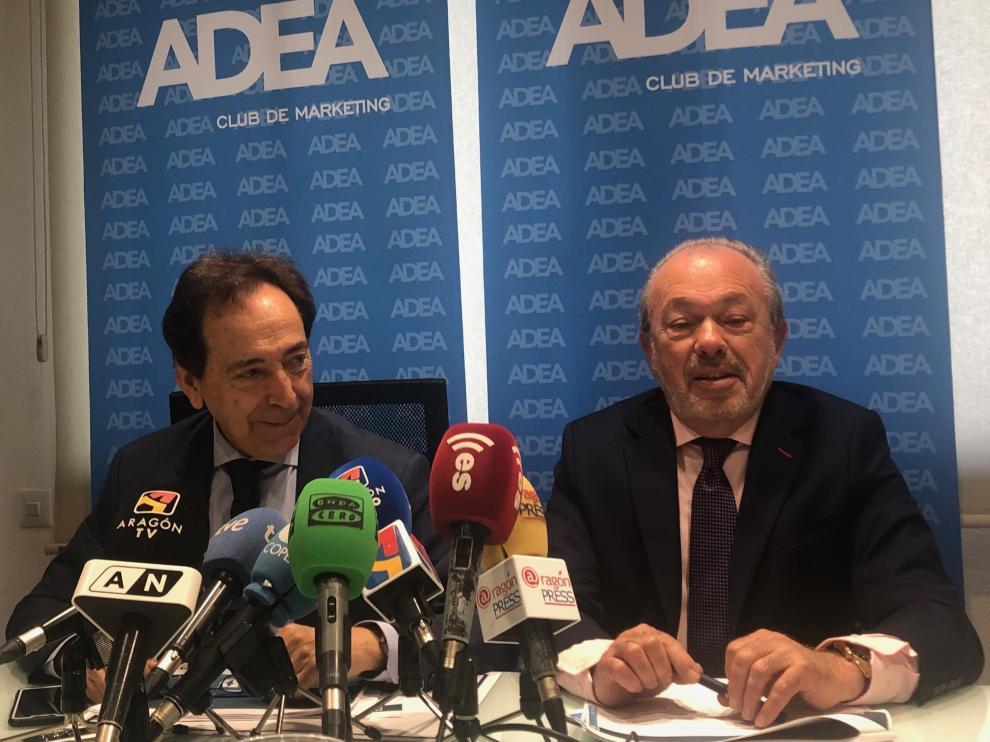 Salvador Arenere y Paco Guillén, en la presentación de este viernes.