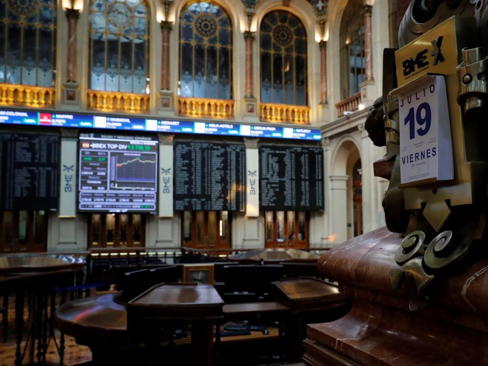 La Bolsa cierra en negativo por segunda semana consecutiva.