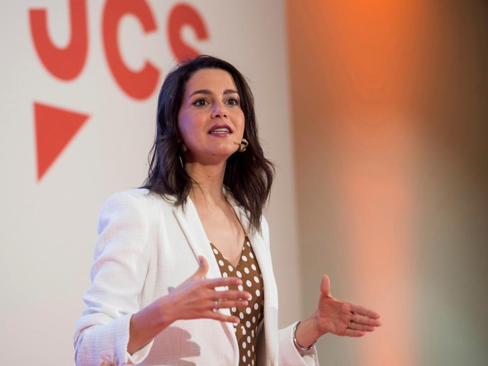 Inés Arrimadas ha participado hoy en Santander en el Campus Joven de Verano de Ciudadanos.