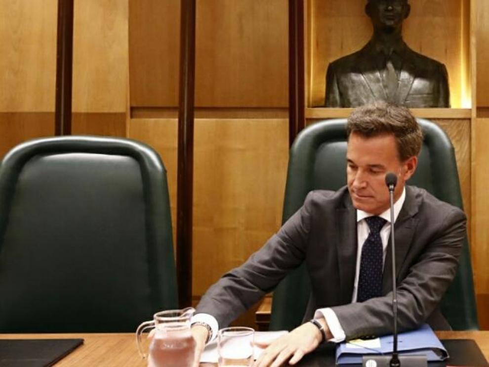 El consejero municipal de Urbanismo, Víctor Serrano.