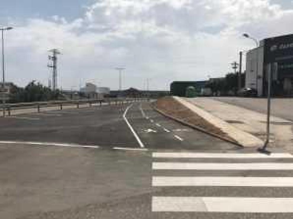 Ampliación del andador hasta la avenida de Chiprana.