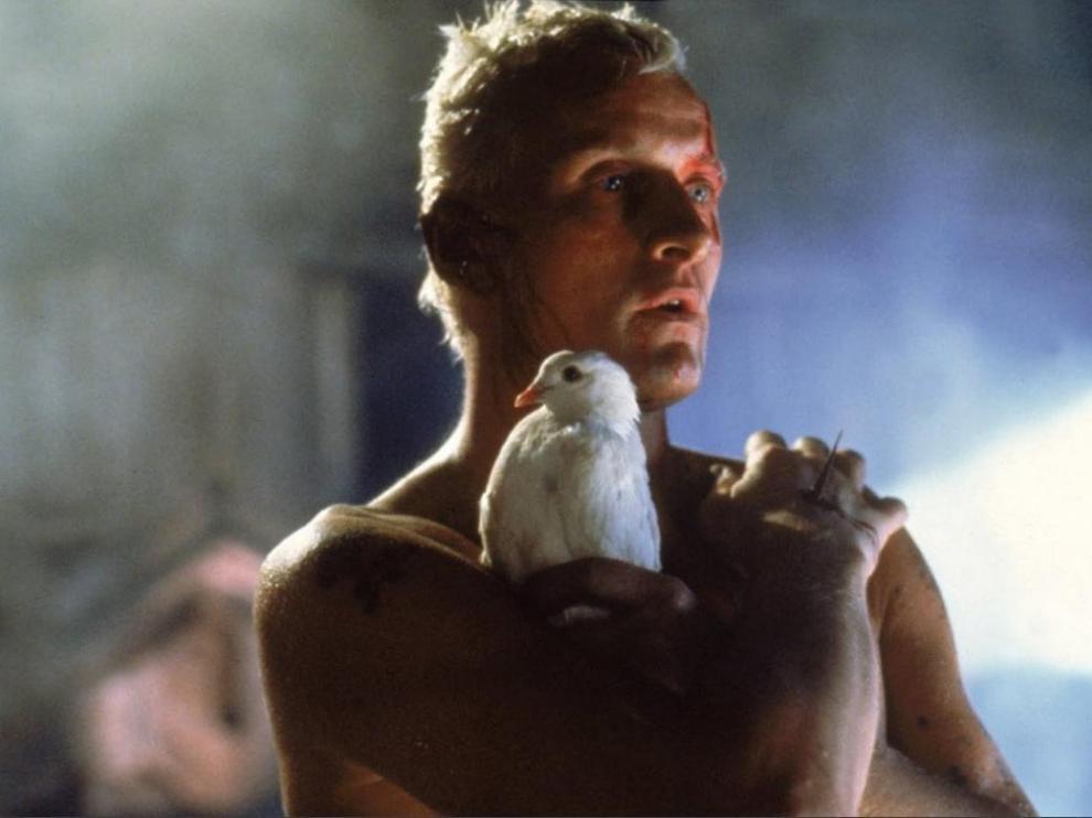 Rutger Hauer, escena de Blade Runner que ha pasado a la historia del séptimo arte.