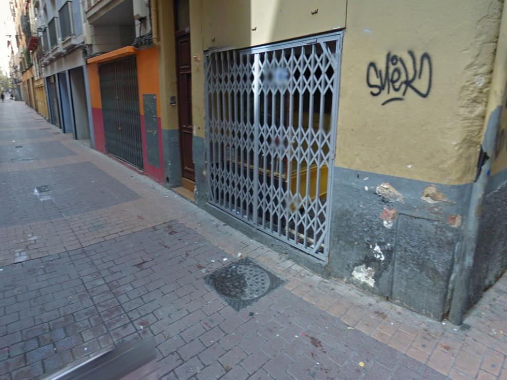 El hombre fue detenido este martes por la noche en la calle de San Pablo.