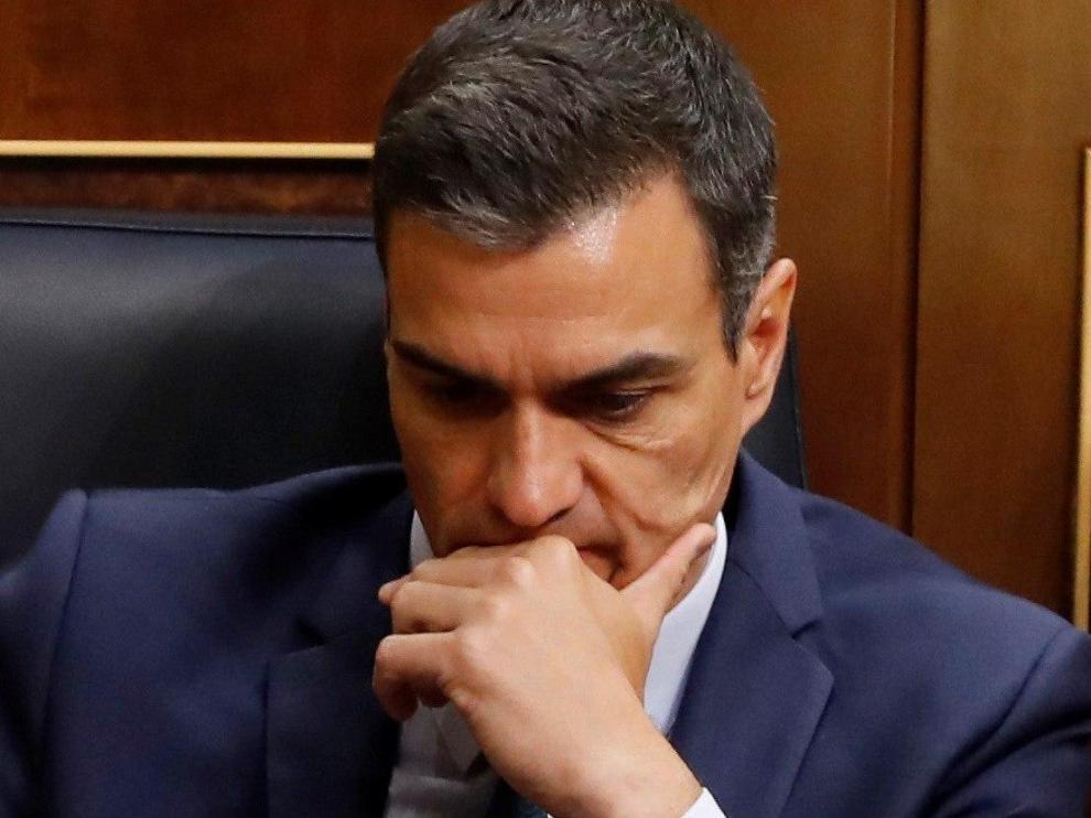 El Congreso rechaza la investidura de Pedro Sánchez.