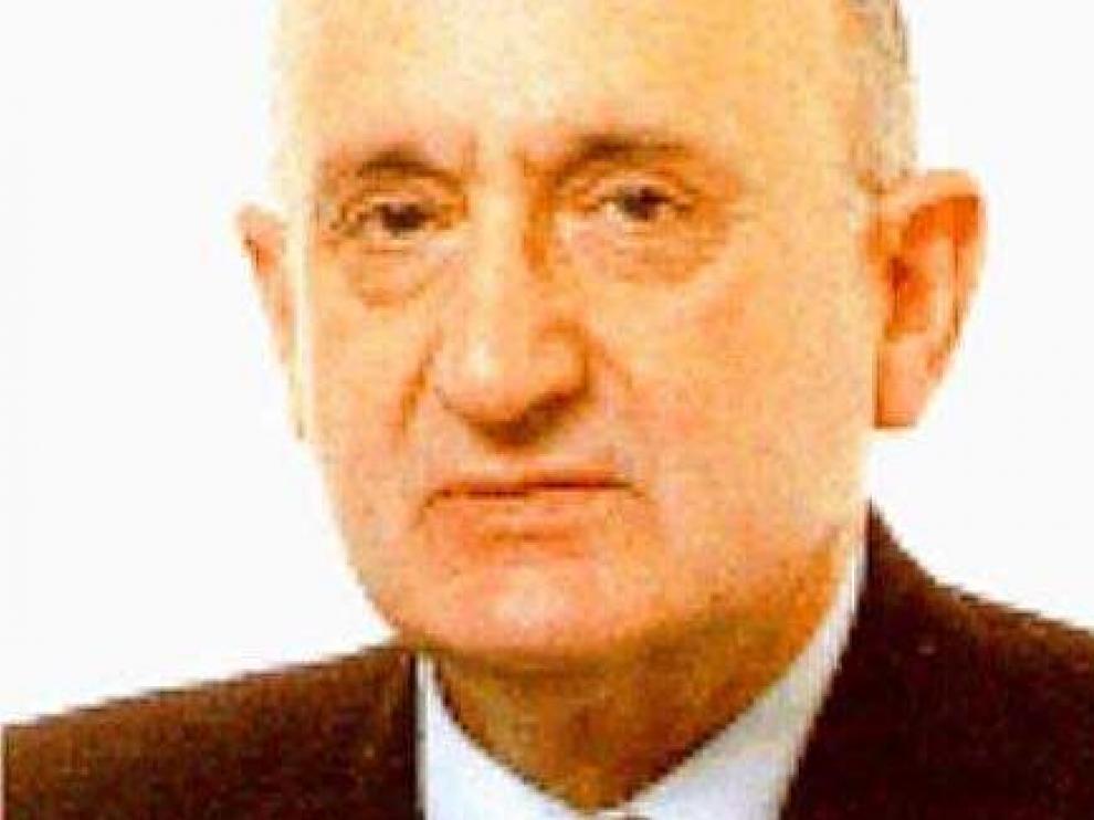 Pascual Rabal, ex alcalde de Jaca