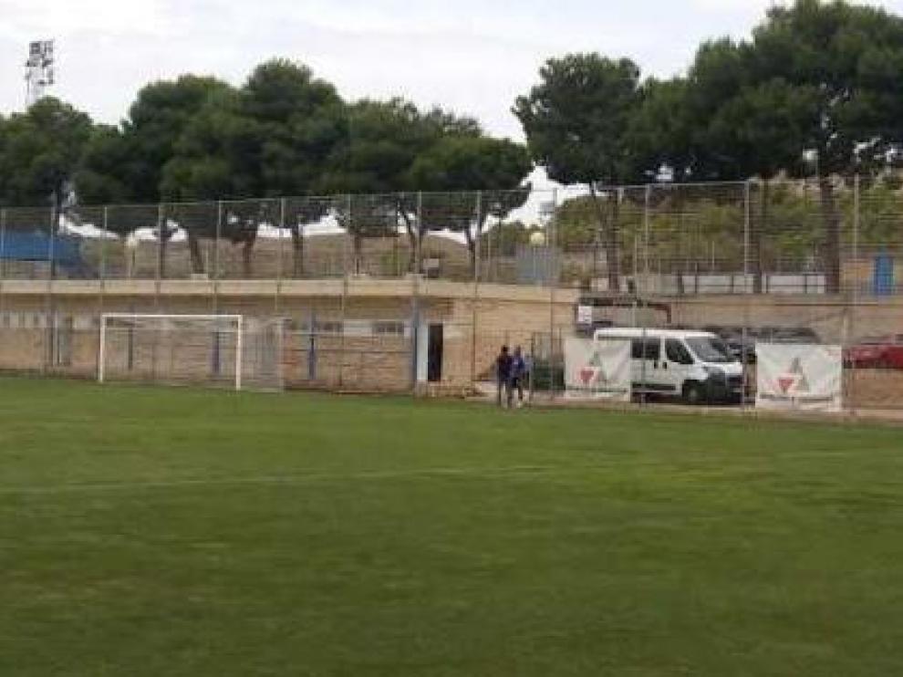 En la soledad del campo de entrenamientos, al mediodía de este viernes, Verdasca y Lalo Arantegui se reunieron al término del ensayo del equipo.