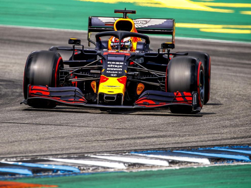 Verstappen, en el Gran Premio de Alemania de Fórmula Uno.