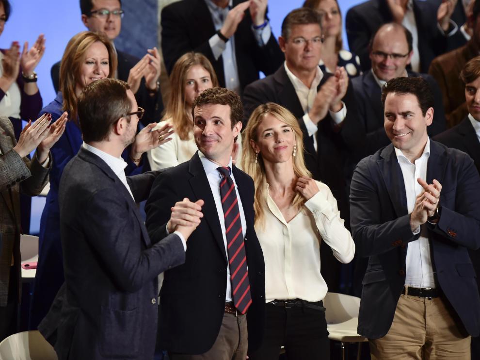 Acto del Partido Popular con Javier Maroto y Cayetana Álvarez de Toledo.