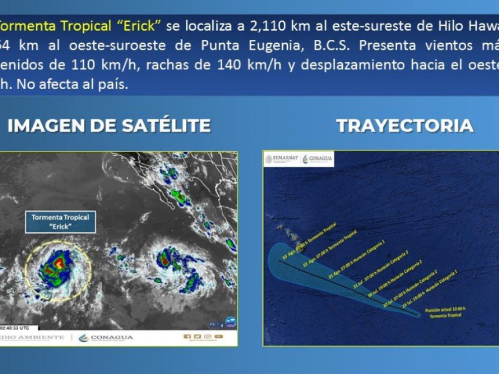 Tormenta tropical 'Erick'