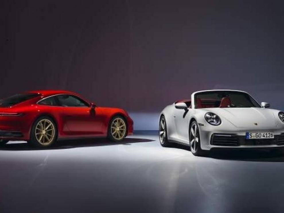 Porsche abre en España el plazo de recepción de pedidos del nuevo 911 Carrera coupé y descapotable