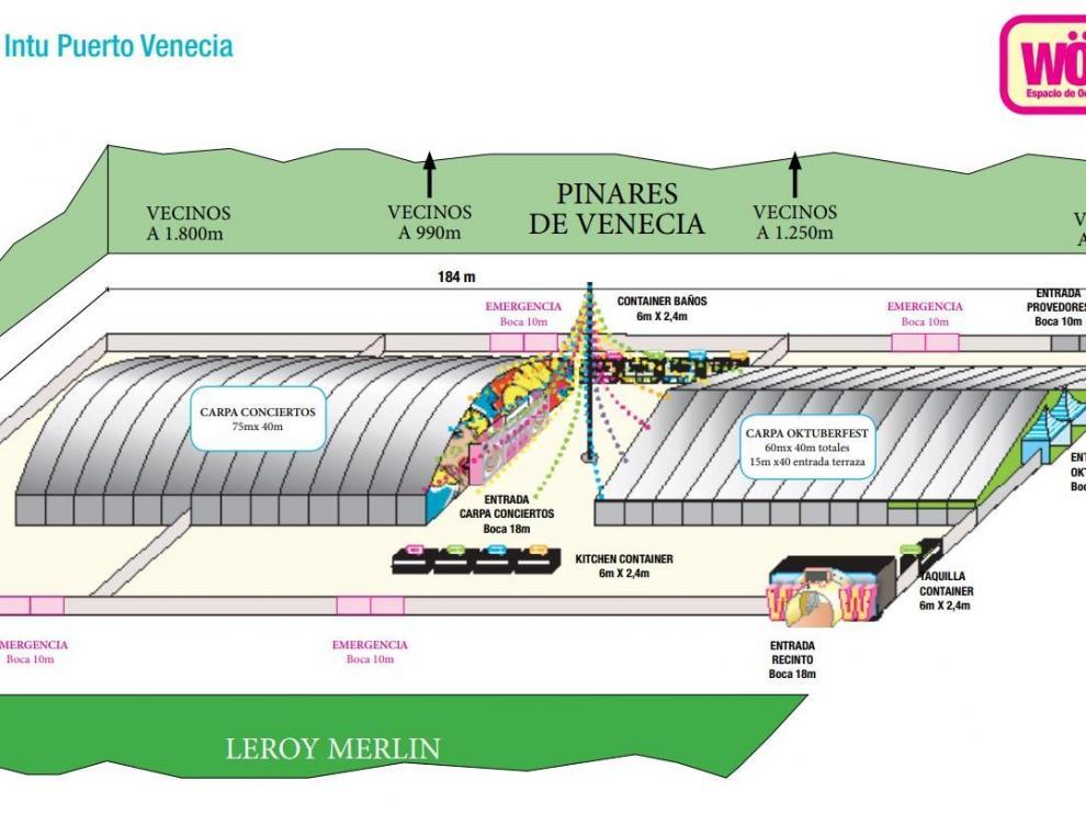 Una imagen de la parcela al lado de Leroy Merlín, con una superficie de desarrollo de 11.700 m2.