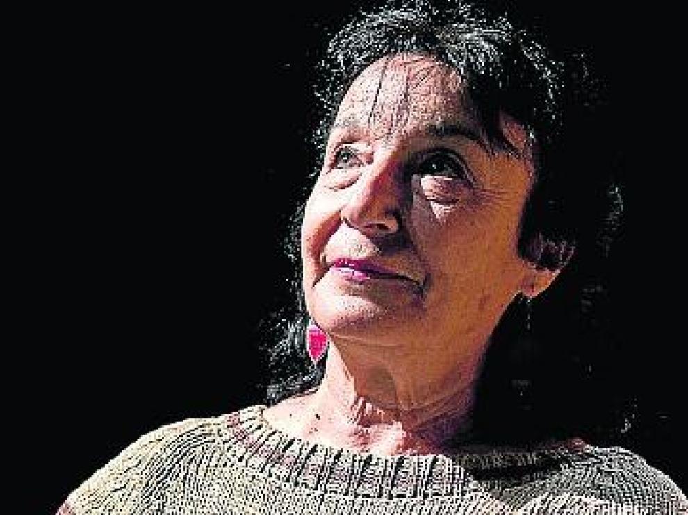 Petra Martínez, recibirá el Premio Tarazona y el Moncayo