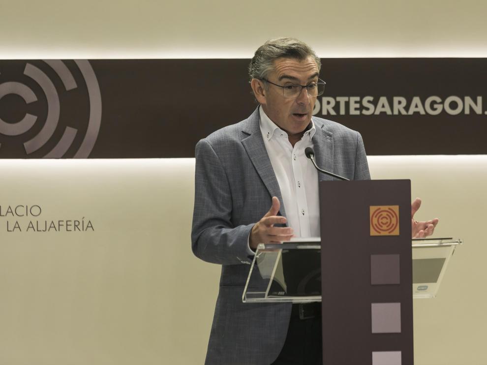 Luis María Beamonte, presidente del PP de Aragón.