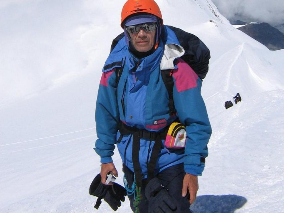 José Belío era un apasionado de la montaña.