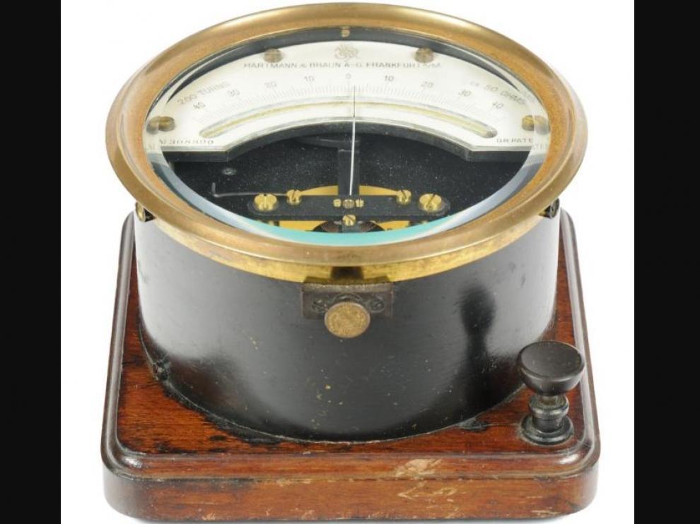 Los galvanómetros que salían del taller de Hartman ofrecían una elevada precisión en las medidas