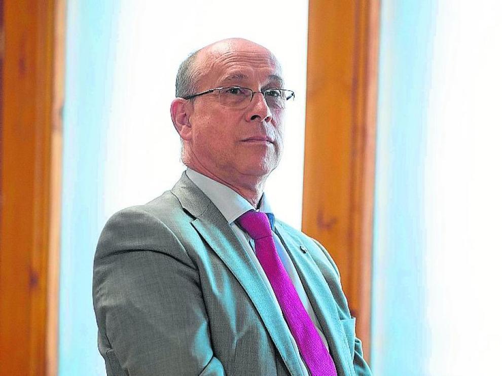 José Antonio Mérida, en su despacho de Vía Univérsitas.