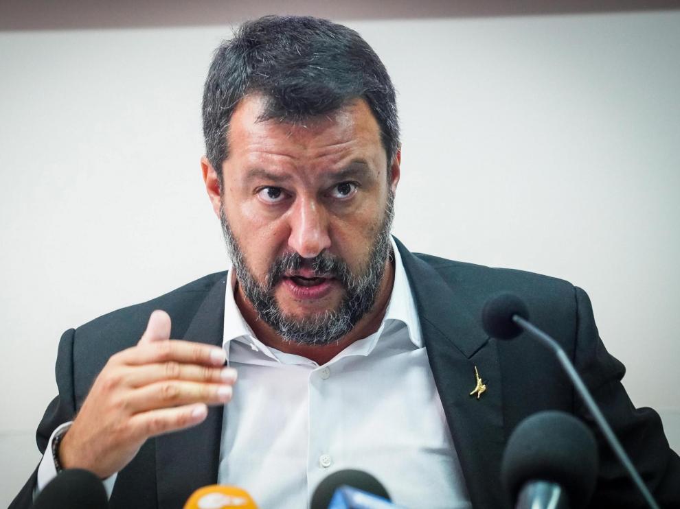El ministro del Interior de Italia, Matteo Salvini.