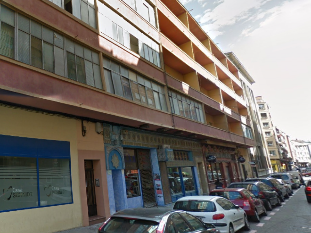 El suceso ocurrió en la calle Juan José Lorente