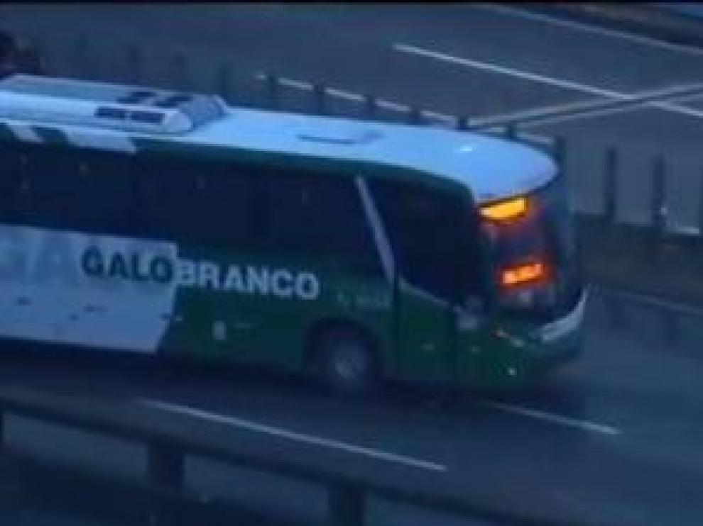Imagen del autobús secuestrado