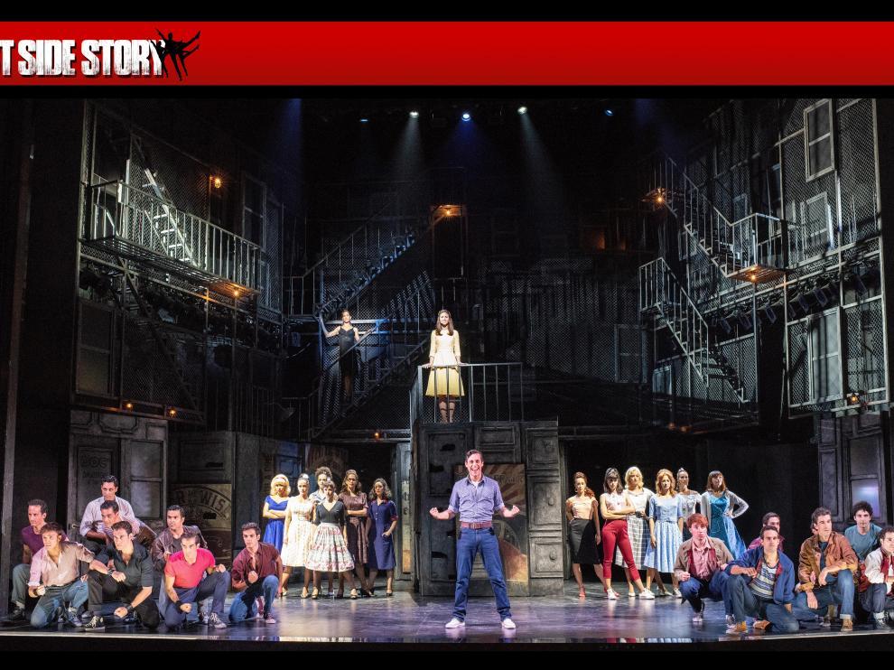 West Side Story', se pondrá en escena en el auditorio del Palacio de Congresos de la Expo del 3 al 13 de octubre.