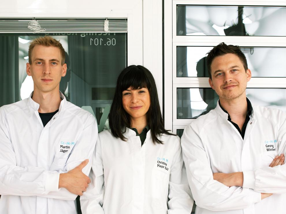 Martin Jaeger, Cristina Mayor Ruiz y Georg Winter