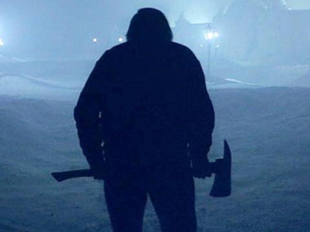 Jack Nicholson en la persecución de 'El Resplandor'.