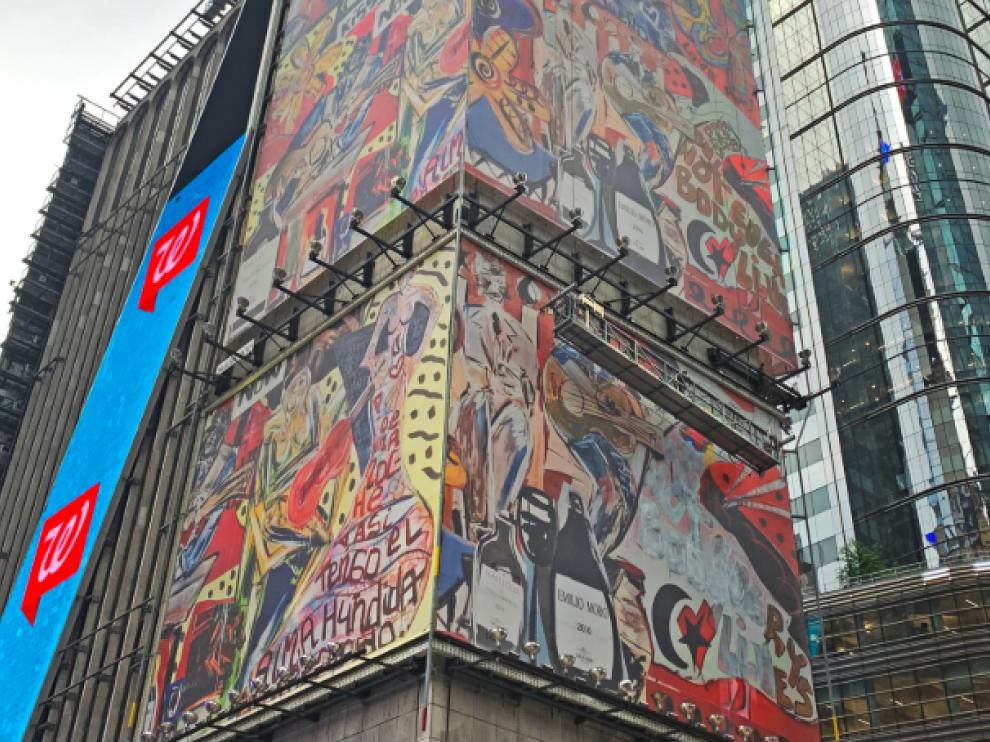 Mural de Domingo Zapata.