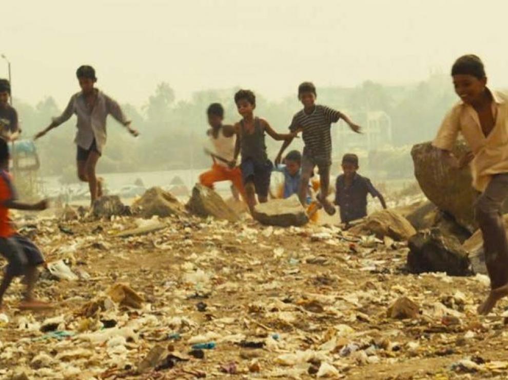 Fotograma de 'Slumdog Millionaire'
