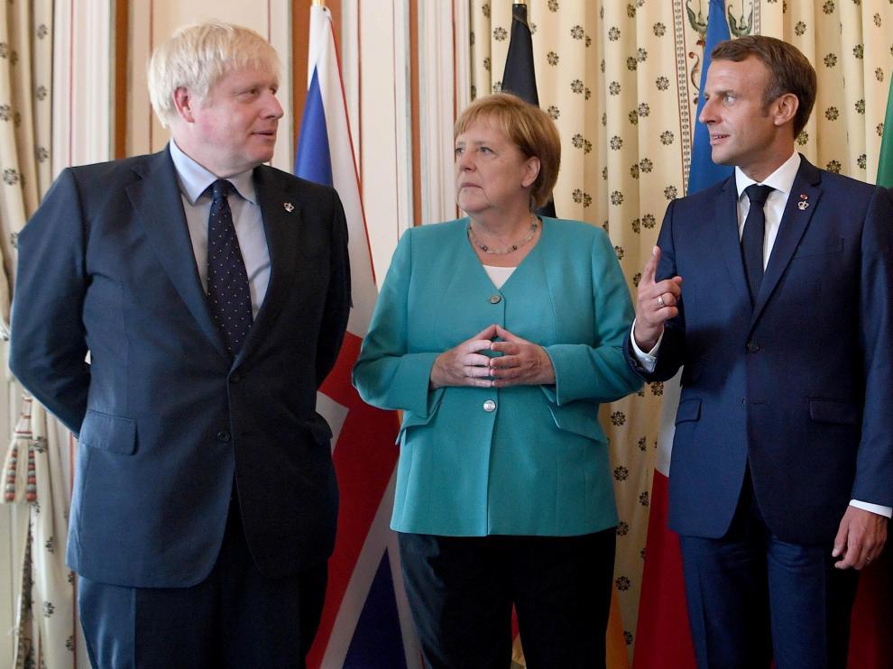 Johnson se encuentra este fin de semana en Biarritz participando en la cumbre del G7
