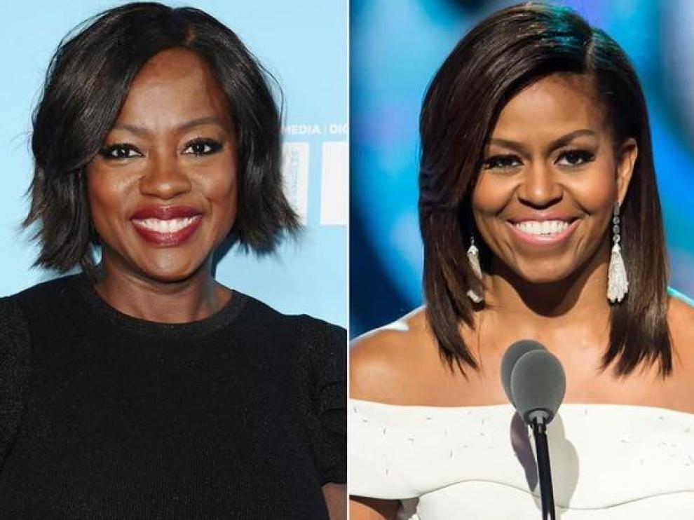 Viola Davis y Michelle Obama.