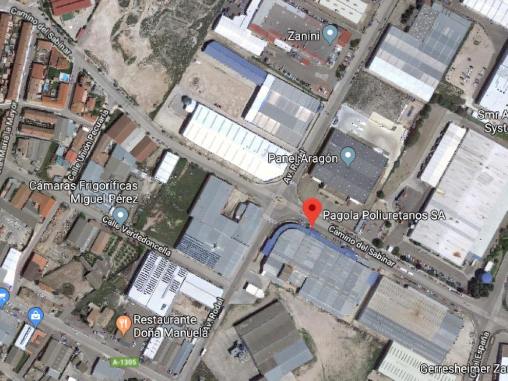 La empresa se ubica en el polígono industrial Valdeconsejo, a las afueras del casco urbano de Épila.