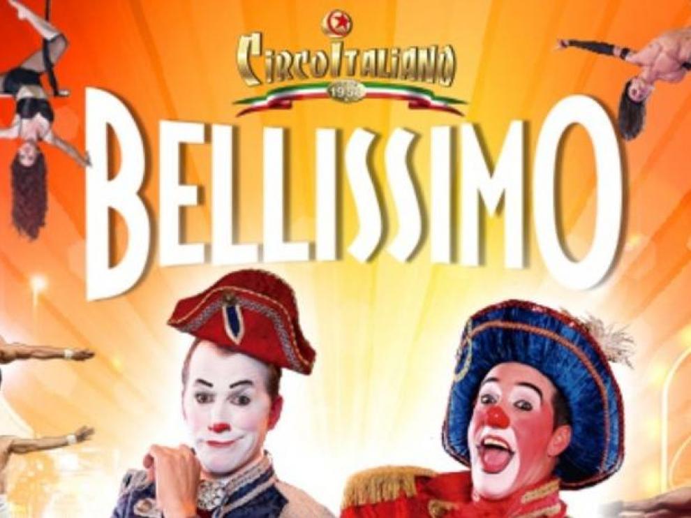 Cartel promocional del Circo Italiano