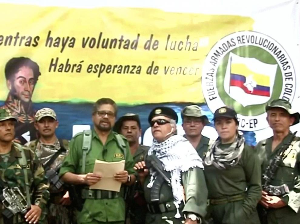 Iván Márquez anuncia el regreso a la lucha guerrillera de las FARC.