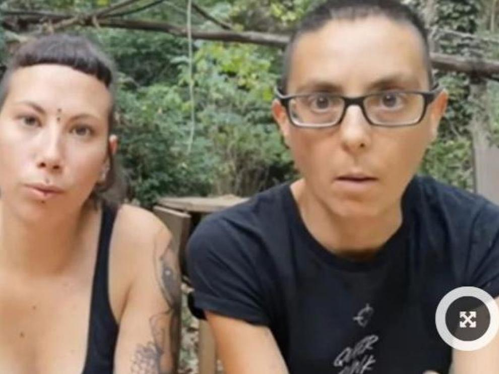 Activistas del grupo 'Almas veganas'