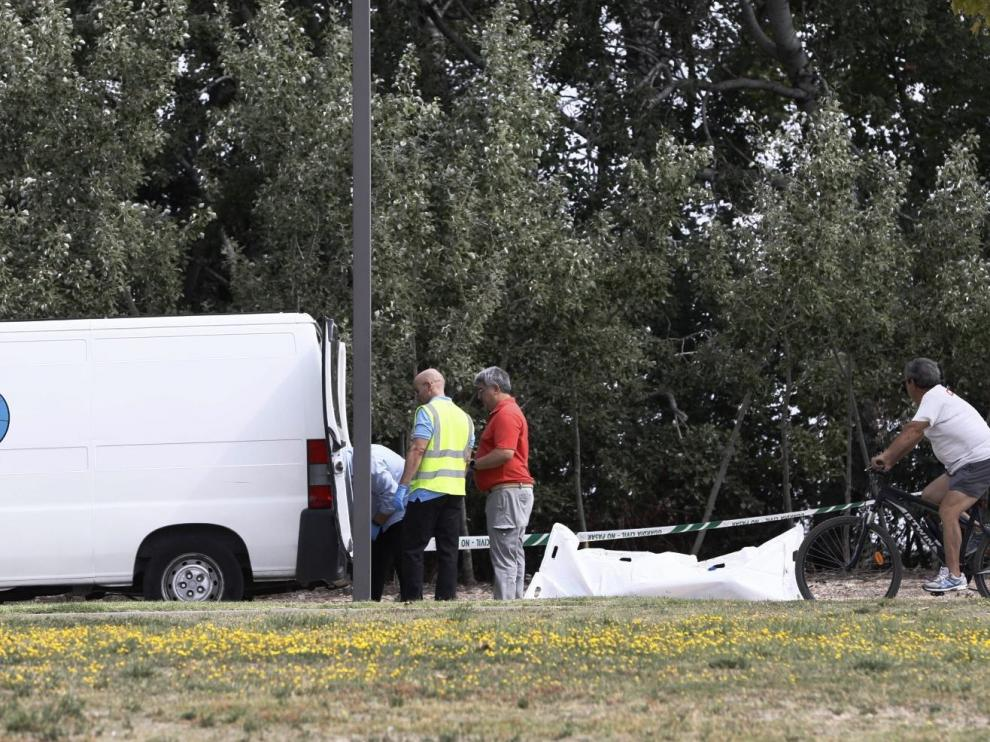 Rescate del cuerpo hallado en el Canal Imperial
